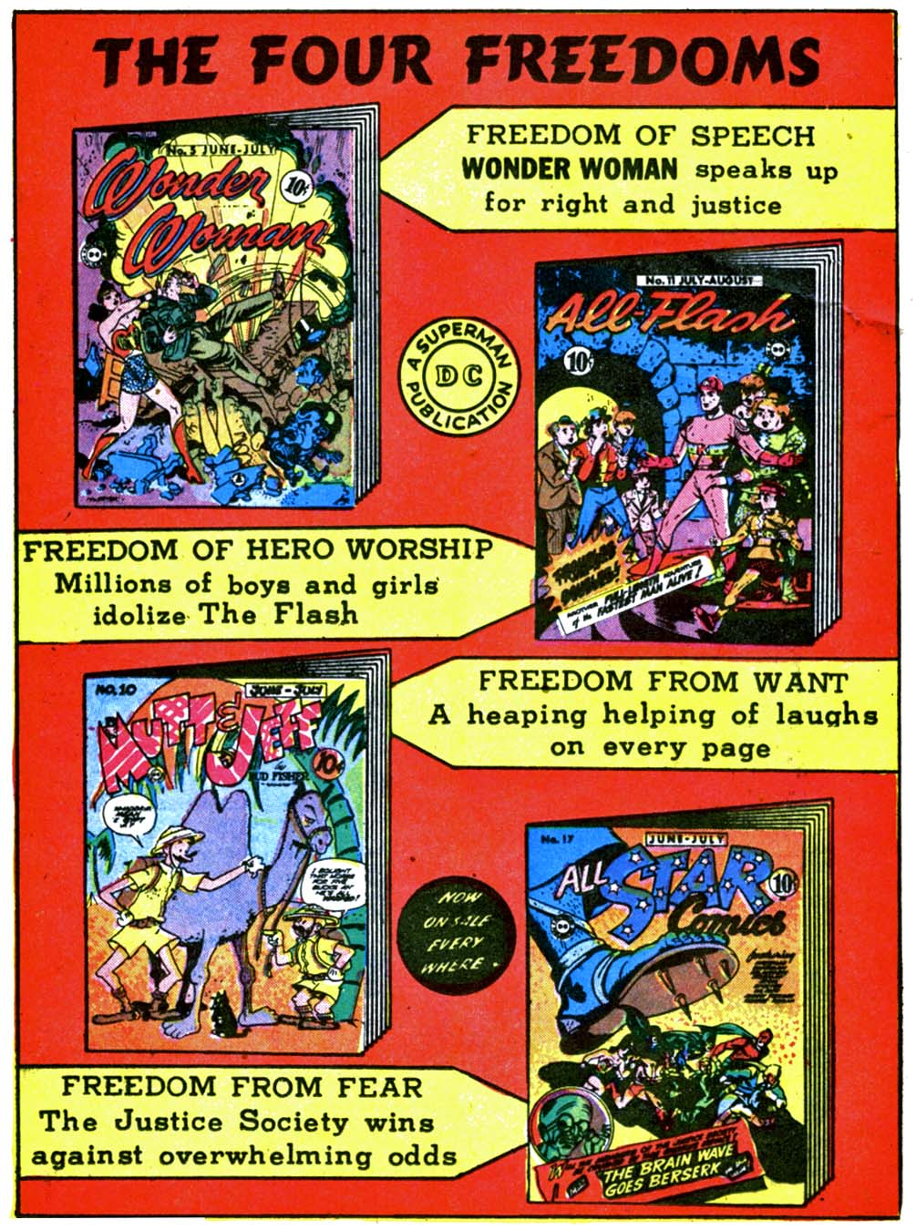 Read online All-American Comics (1939) comic -  Issue #52 - 45