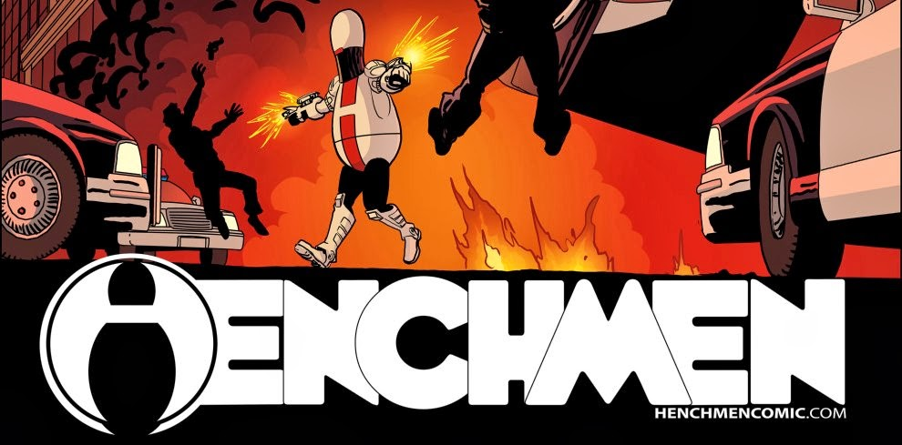Logo Henchmen Comics Wallpaper