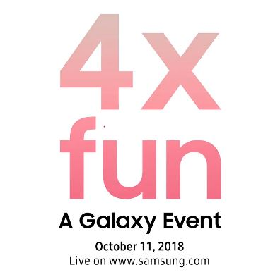 Samsung akan Menggelar Acara Peluncuran Pada 11 Oktober