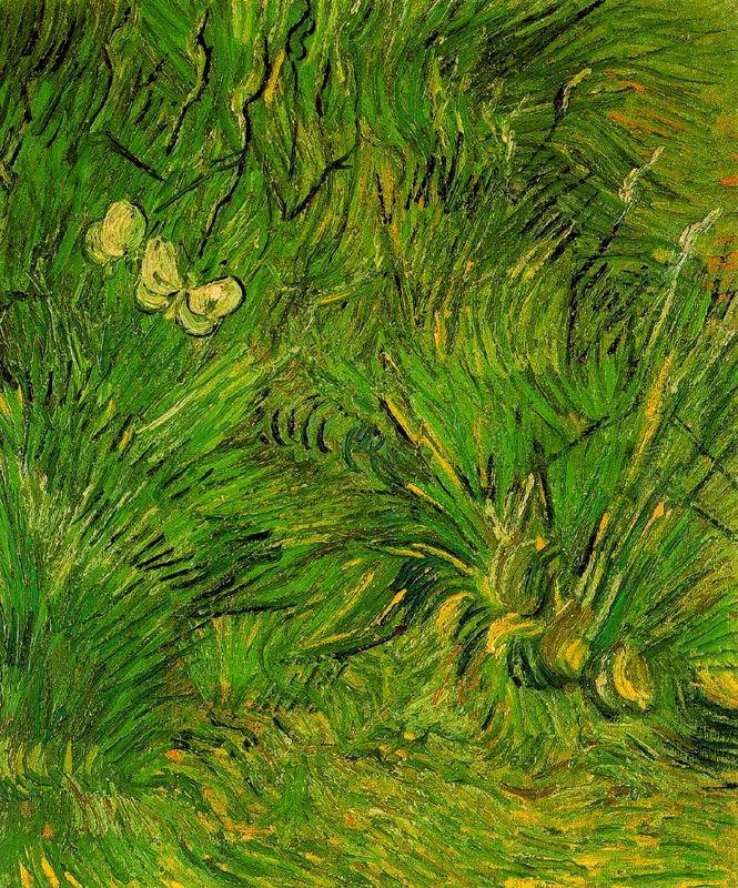 Dues papallones blanques (Vincent Van Gogh)