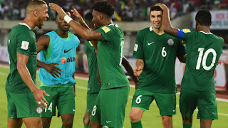 Sport: FIFA fines Nigeria for fielding ineligible player in World Cup qualifier, deducts points