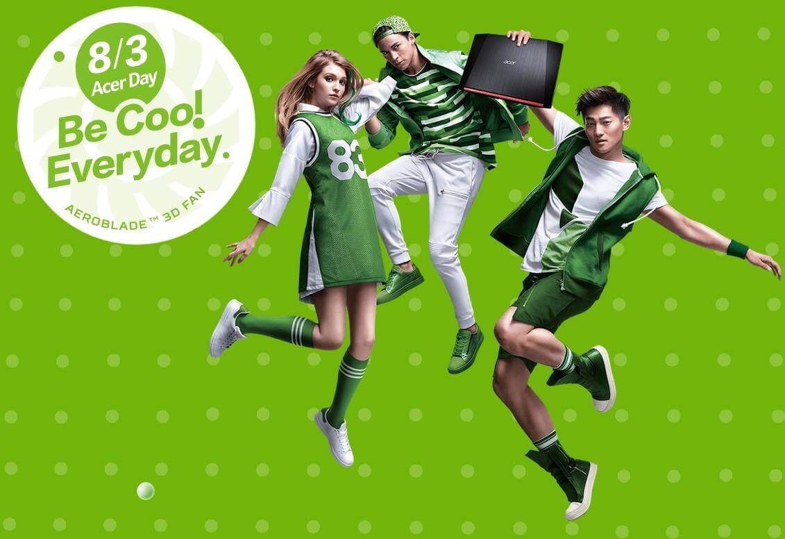 Acer Kicks Off Its First And Largest Annual Brand Event; Every August 3 Is Acer Day!