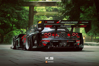 Crazy concepts made by Khyzyl Saleem! Via Speedhunters