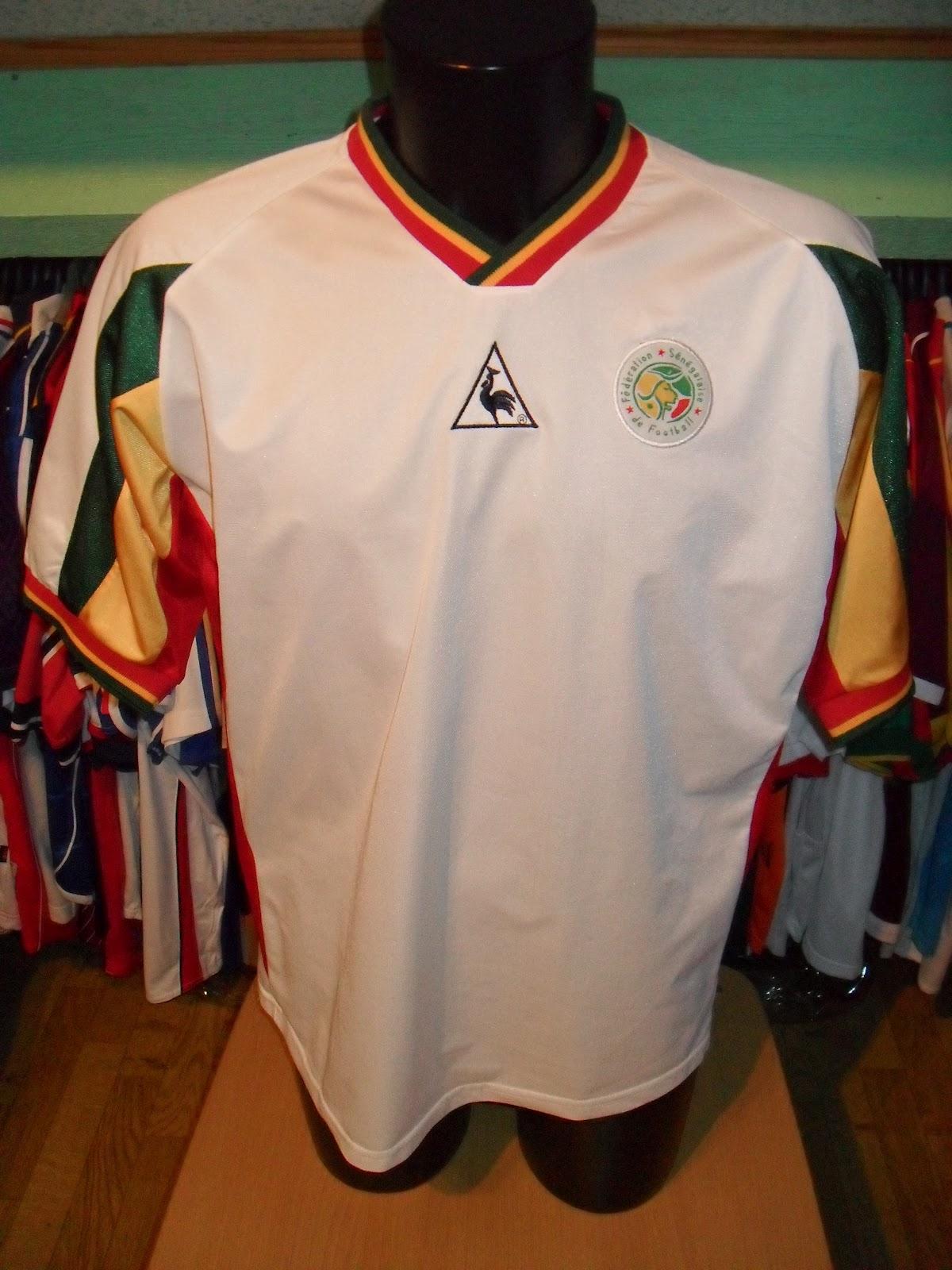 b9d175d08 Mon grenier à maillots  Sénégal 2002