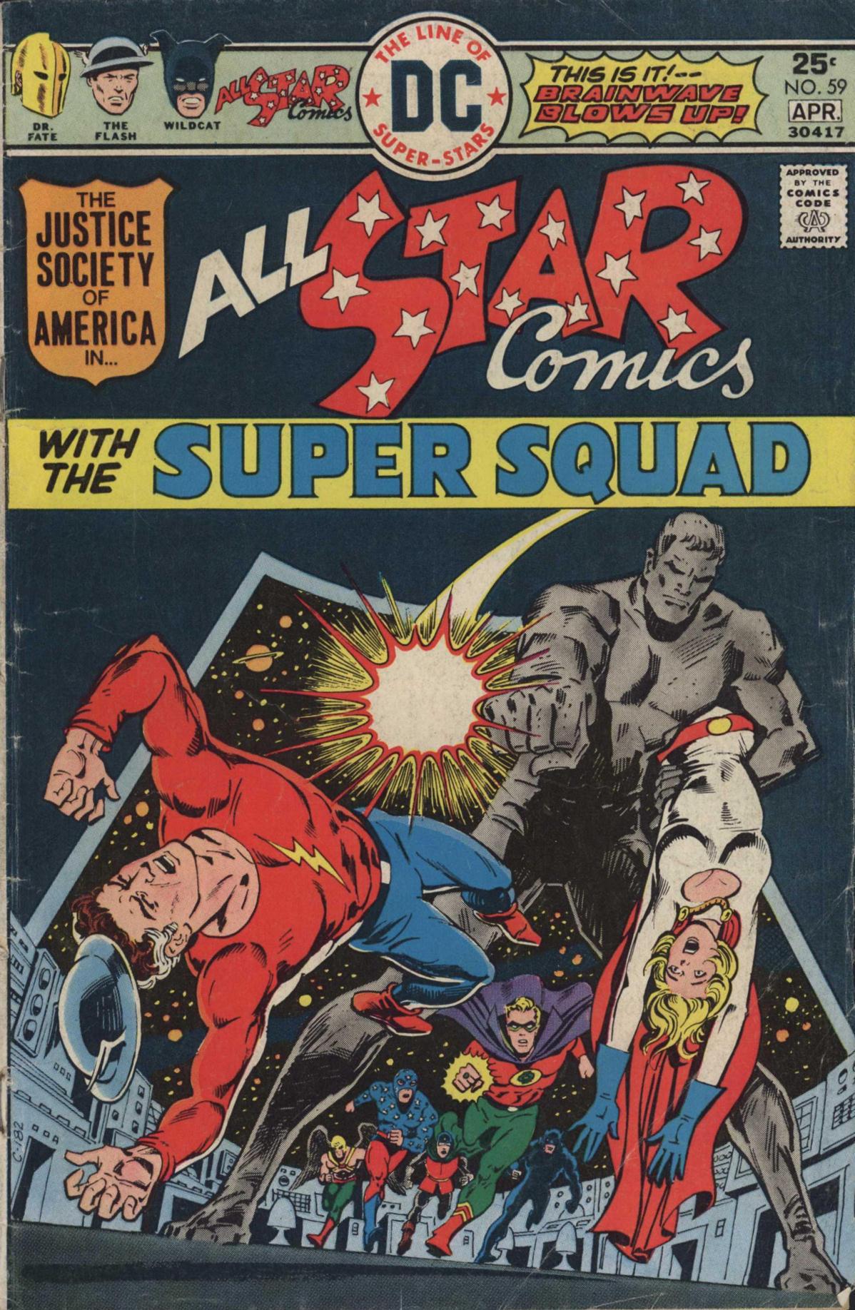 Read online All-Star Comics comic -  Issue #59 - 1