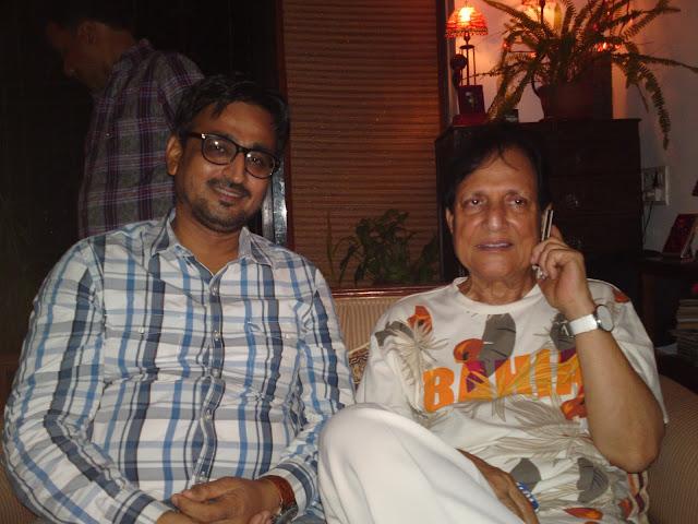 Camaal Mustafa Sikander with Saawan Kumar Tak