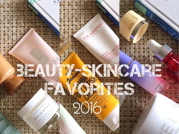Beauty Edit - 2016 Skincare Favorites