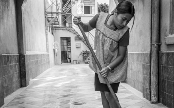 Yalitza Aparicio en Roma