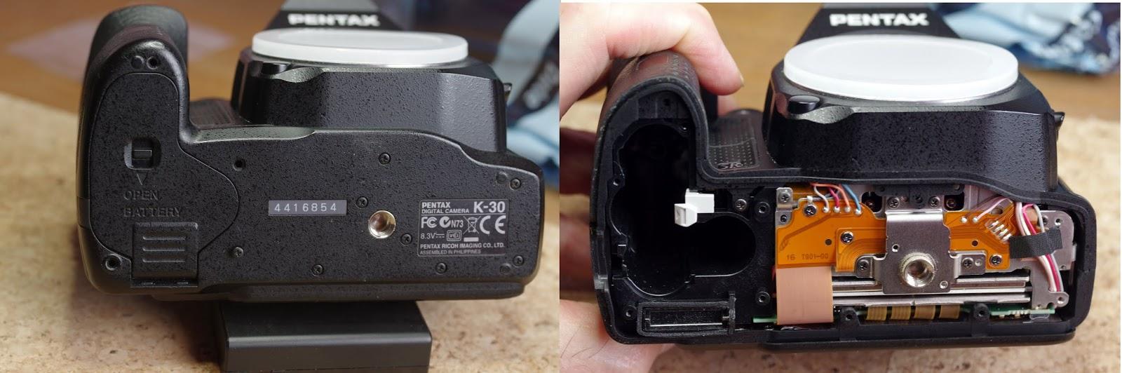 Camera Bottom Screw X2