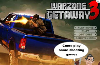 Play Free Warzone Getaway 3 Shooting Online Game