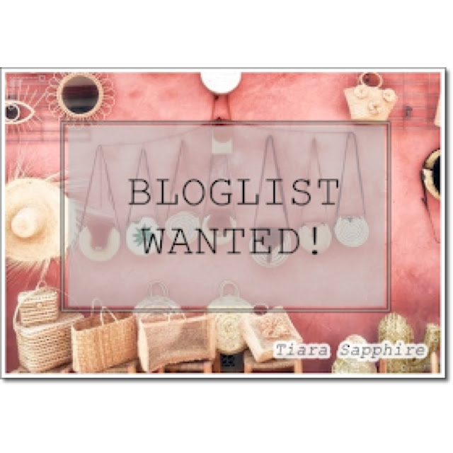 Bloglist Wanted