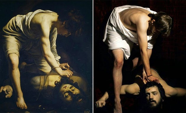 famous paintings reproduced, recreation of classical paintings1