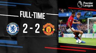 Chelsea vs Manchester United 2-2 Video Gol & Full Highlights