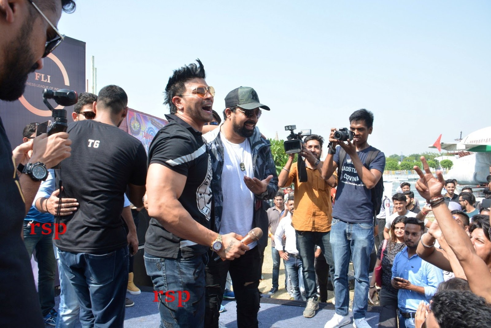 d4d5f96878 Ranvijay And Sahil Khan Conducted audition for there New Fitness ...