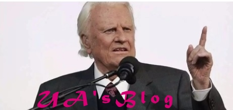 Renowned American evangelist Billy Graham dead at 99