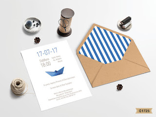 sail boat baptism invitations for boys