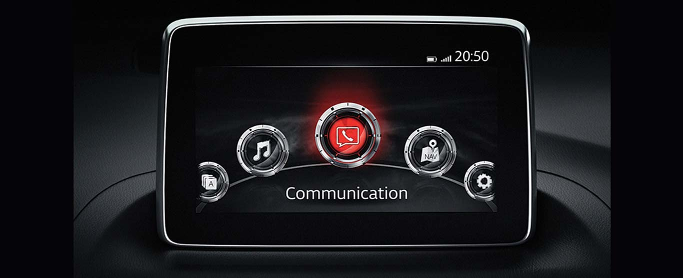 Màn hình cảm ứng DVD Mazda3