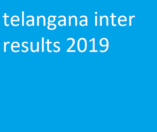 telangana inter results 2019