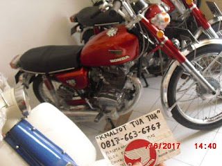 Honda CB 125 Baru Selesai RESTORASI  ....BPKB ASLI CB125 -  STNK ASLI CB125