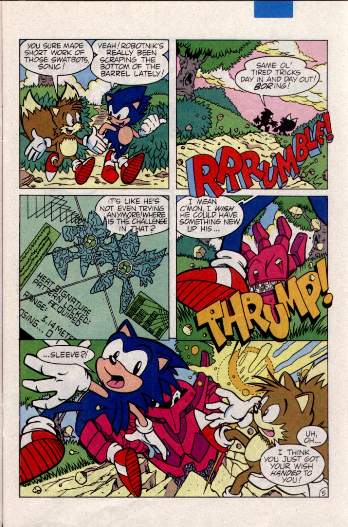 Read online Sonic The Hedgehog comic -  Issue #21 - 6