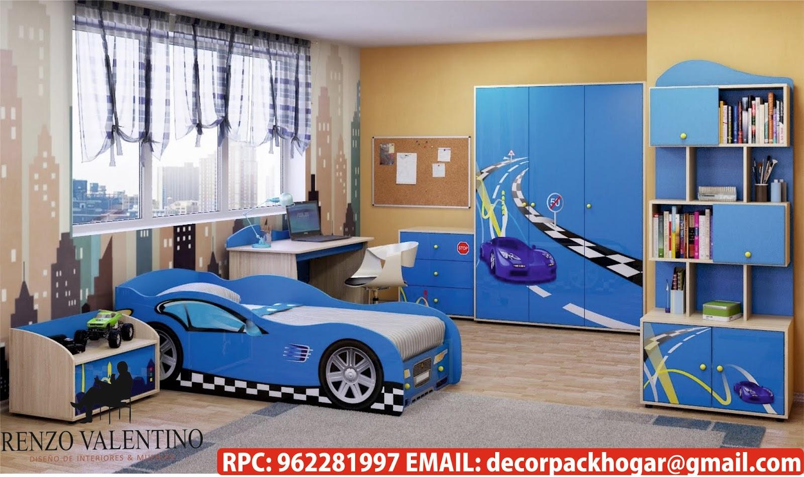Dise os fabricacion de closet cocina y muebles de oficina for Dormitorios tematicos
