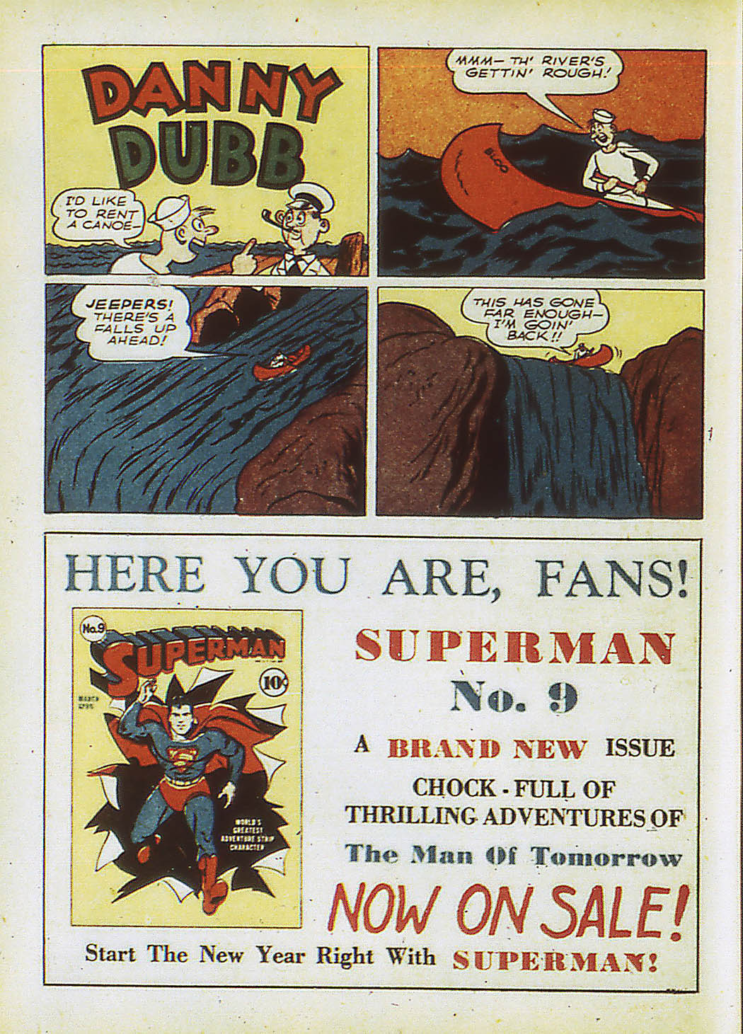 Read online Action Comics (1938) comic -  Issue #34 - 57