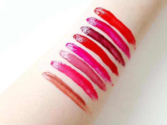 Maybelline Vivid Matte Liquid Lipsticks Swatches