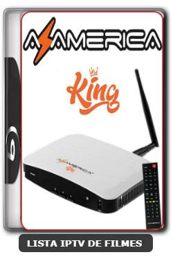Azamerica King HD Nova Atualização Melhorias no sistema IKS e SKS 61w, 63w, 67w e 107w V1.31 - 09-06-2020