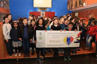 Entrega a Manos Unidos de la recaudación del Rastrillo Infantil Solidario
