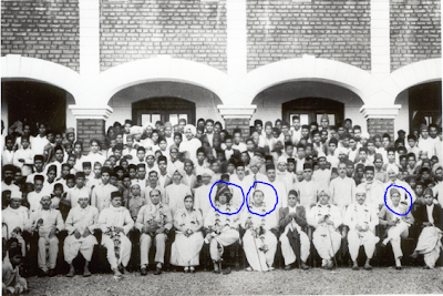 Group-Photo-with--Shri-Dadasaheb-Khaparde-in-in-center-wearing-a-turban-and-Netaji-sitting-next-to-him-from-1938