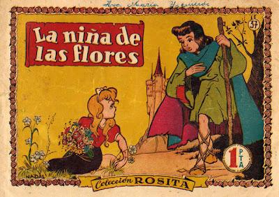 Nadal dibujó varios cuentos de la colección Rosita