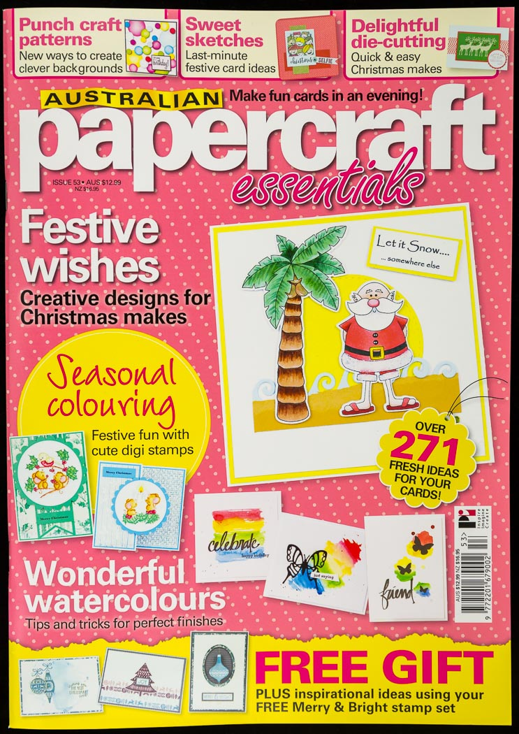 I was published - Australian Papercraft Essentials