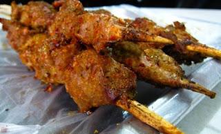 Daging BBQ (kǎo ròu)