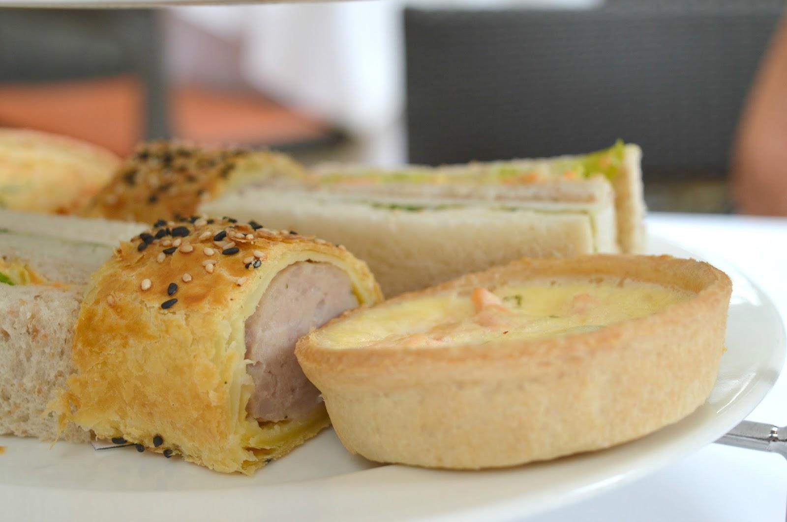 Jesmond Dene House - Afternoon Tea Sausage Roll