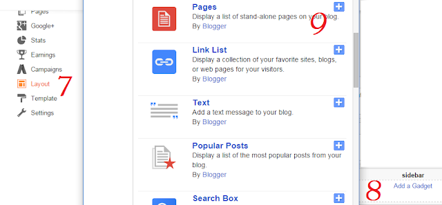 Create Static Page Easily on Bloggers Blog