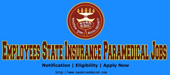 ESIC Staff Nurse Vacancy 2019
