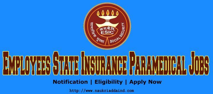 ESIC Staff Nurse Vacancy 2019