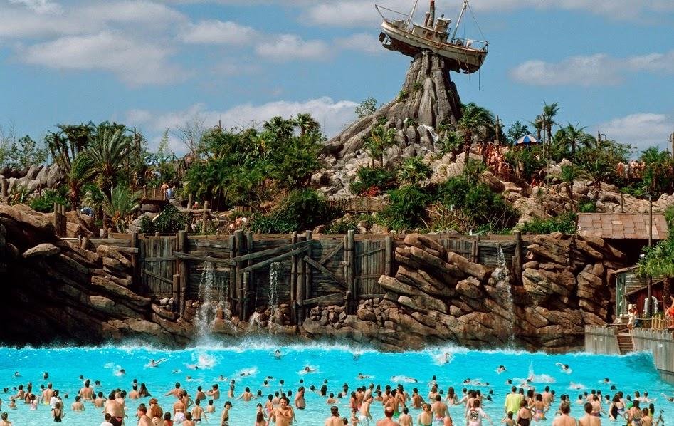 Parque aquático Typhoon Lagoon da Disney em Orlando