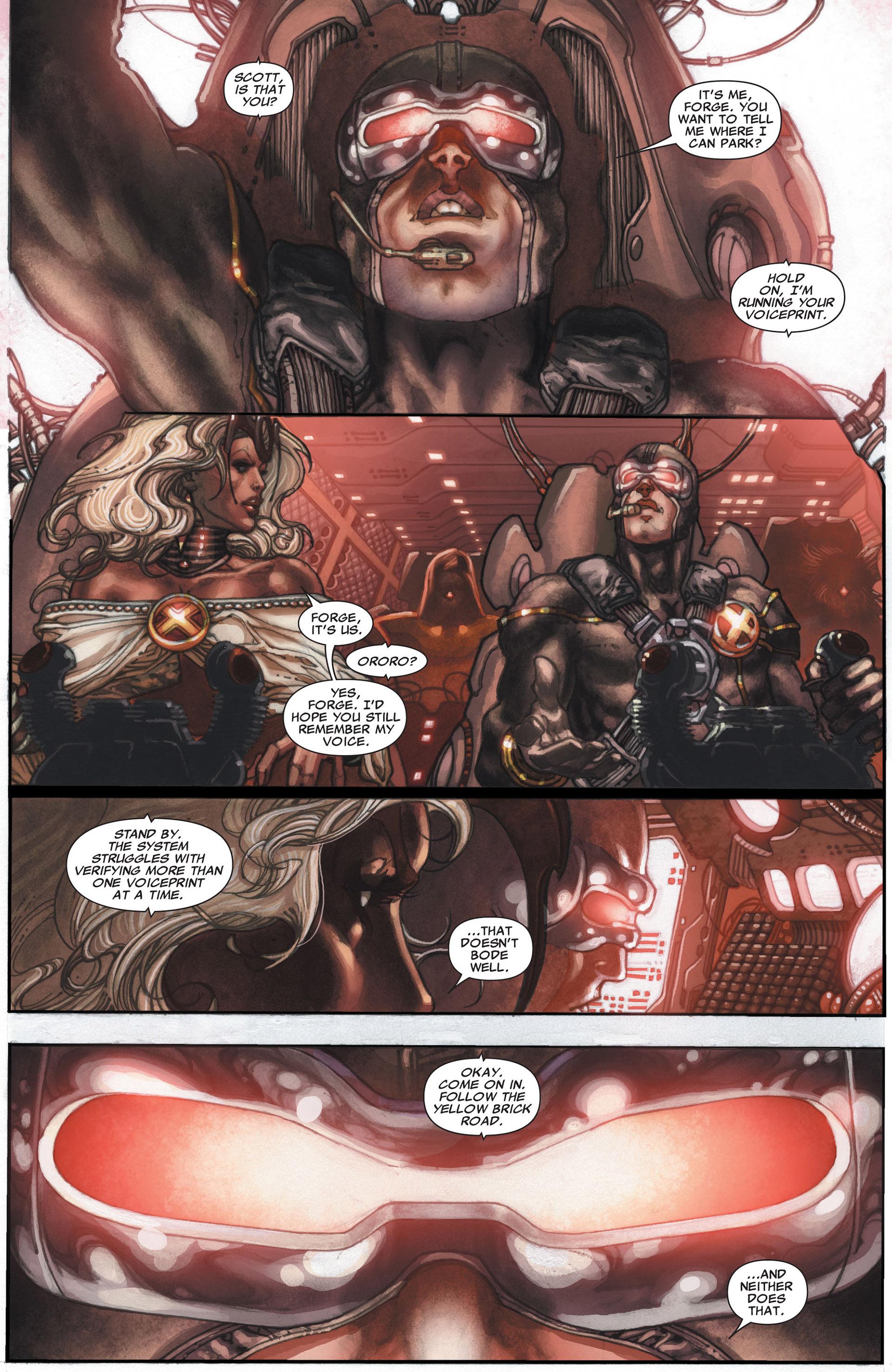 Read online Astonishing X-Men (2004) comic -  Issue #29 - 19