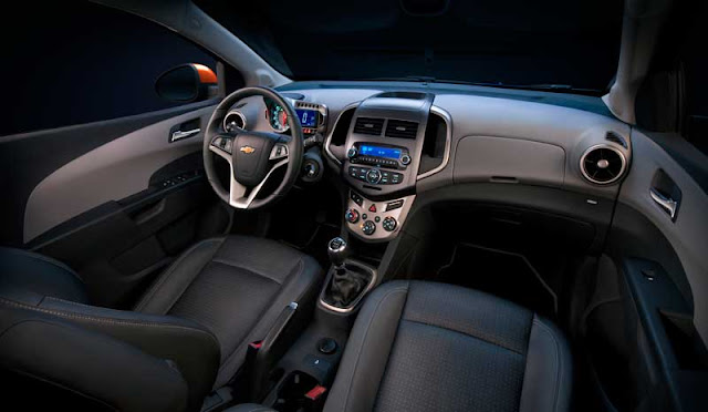 2012 Chevrolet Sonic LTZ Turbo interior