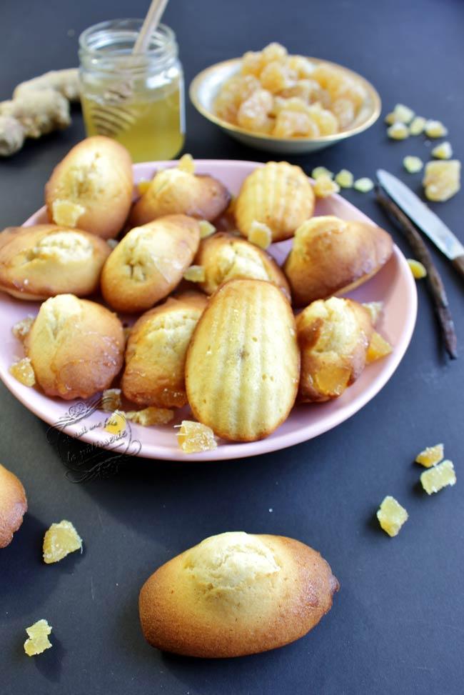 recette madeleines icookin