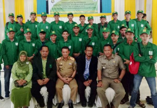 Sekda Selayar, Terima Rombongan Mahasiswa, KKN UIN Makassar