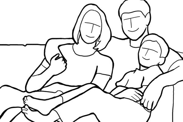 دليل أوضاع تصوير الأسرة بالصور 6
