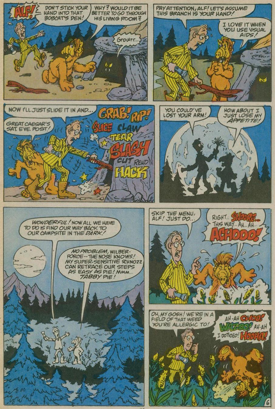 Read online ALF comic -  Issue # _Annual 1 - 19