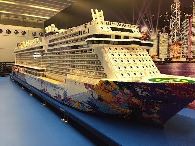 El mayor barco de LEGO que existe