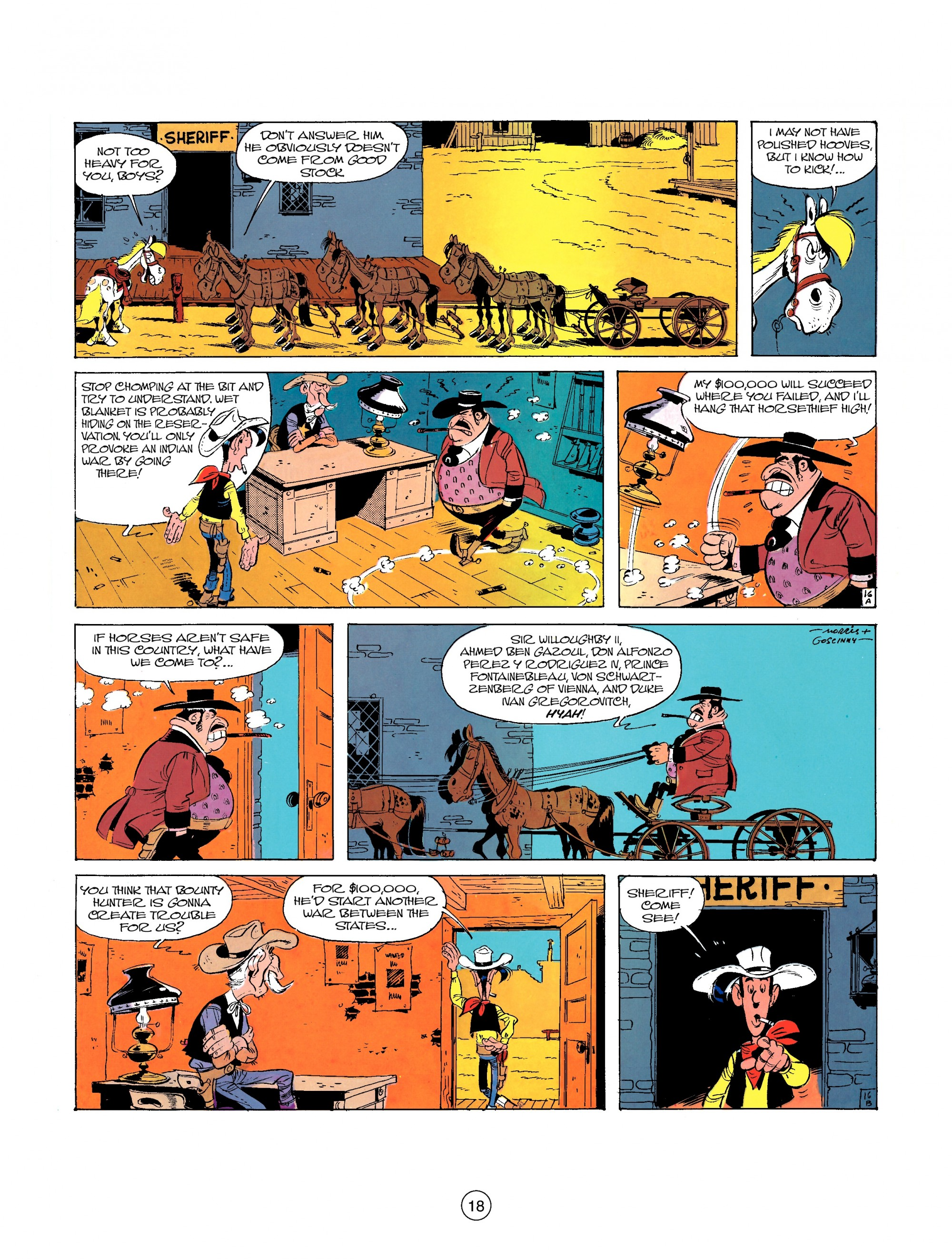 Read online A Lucky Luke Adventure comic -  Issue #26 - 18