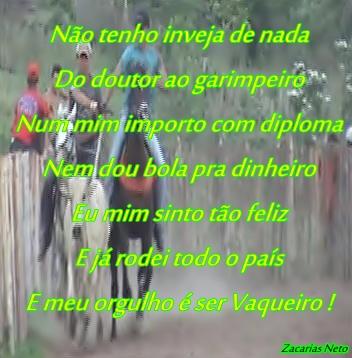 Zacarias Neto Grupo Vaqueirama Equipe Zuada