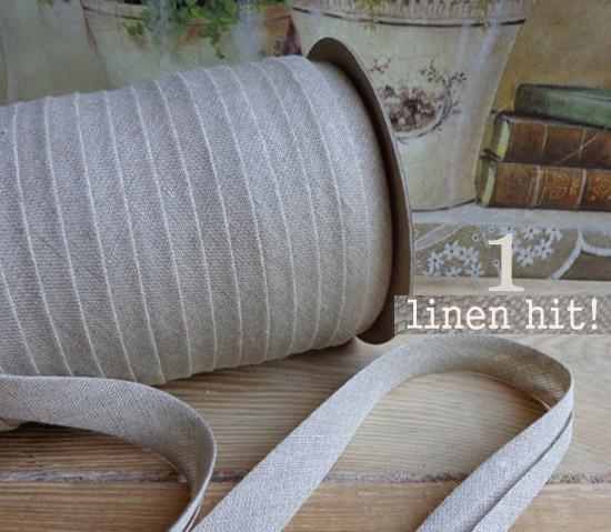 lamówka lniana naturalna Linen Hit!