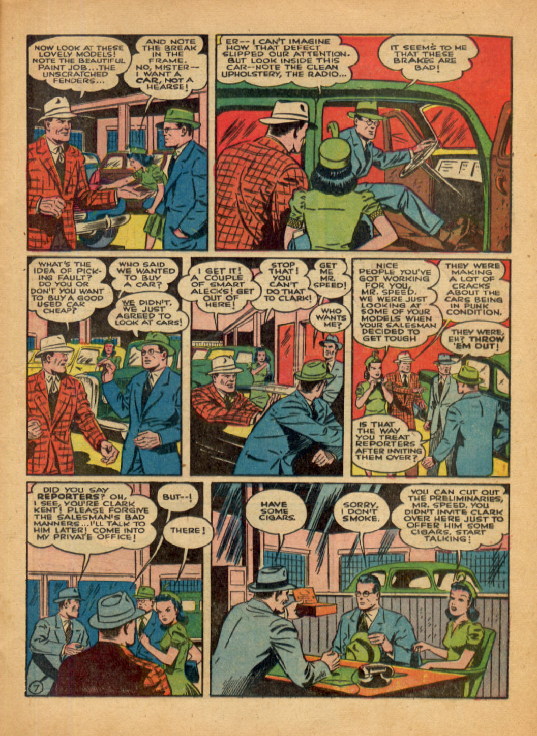 Read online Action Comics (1938) comic -  Issue #48 - 9