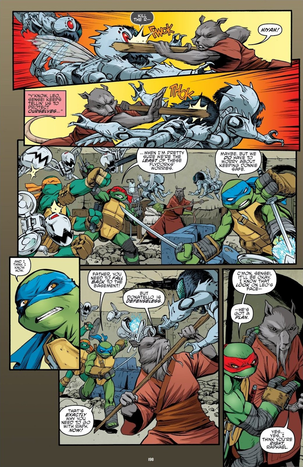 Read online Teenage Mutant Ninja Turtles: The IDW Collection comic -  Issue # TPB 6 (Part 2) - 95